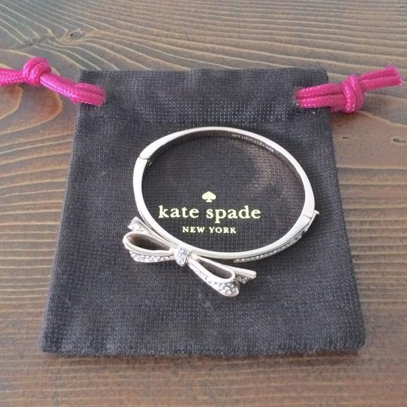 Kate Spade Rose Gold Bow Bracelette